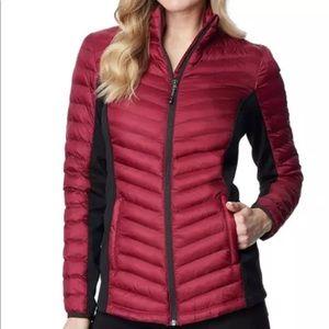 32 Heat Burgundy Red Coat